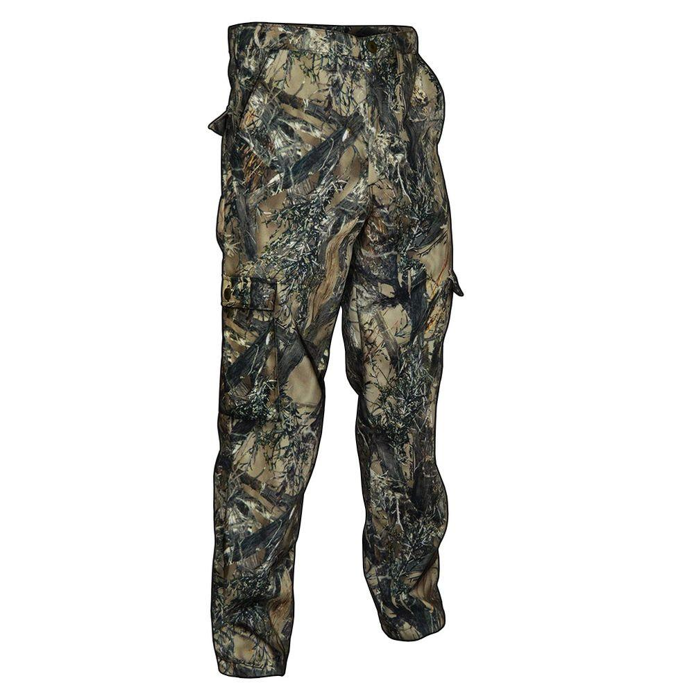 TrueTimber Camo Men's Large Camouflage 6-Pocket Poly Cotton Hunting Pant