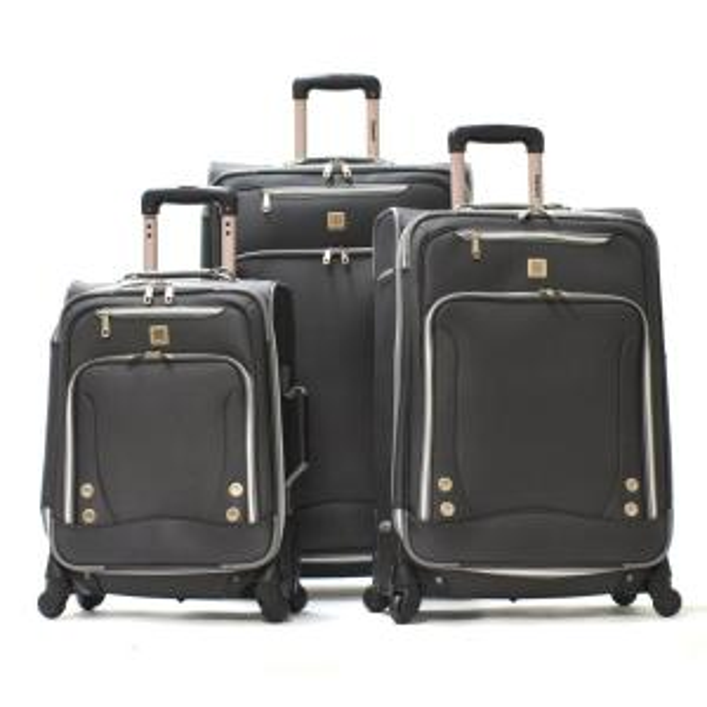 Olympia U.S.A SkyHawks 3-Piece Expandable EVA Spinner Suitcase Set by Olympia U.S.A