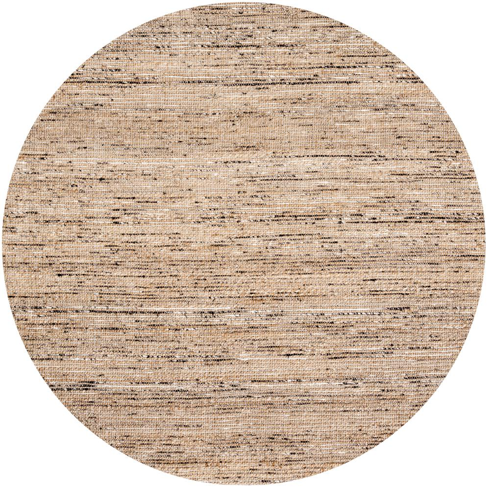 nuLOOM Emery Natural 6 ft. x 6 ft. Round Area Rug