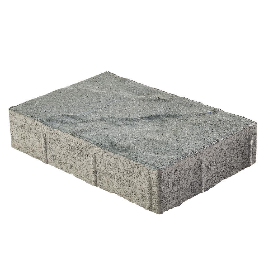 Taverna Rec 12 in. x 8 in. x 2 in. Bluestone Concrete Step Stone