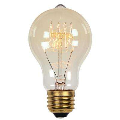 60-Watt Timeless Vintage Inspired Incandescent A19 Light Bulb