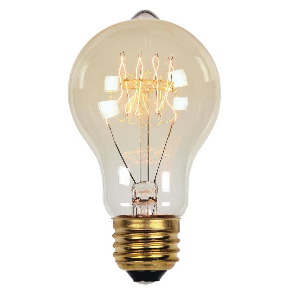 A19 Bulb Standard Release24 Orange Light Bulbs Halloween Halco Lighting 60w 130v Frosted A19