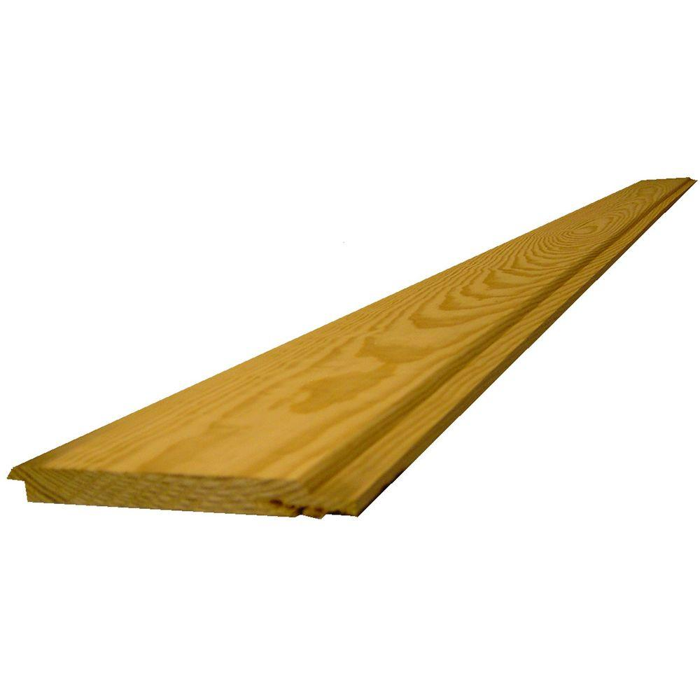 1 in. x 8 in. x 12 ft. #2 Southern Yellow Pine Shiplap Board-782169 ...