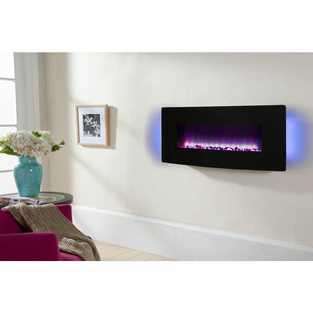 miami mount inch electric mounted fireplace district products wall garden allure napoleon linear