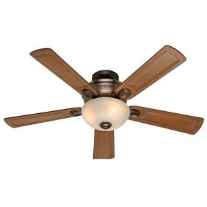 Hunter Princeton 52 inch Bronze Patina Indoor Ceiling Fan by Hunter