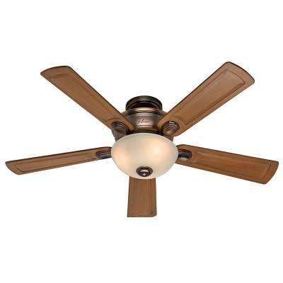 Clearance ceiling fans lighting the home depot bronze patina indoor ceiling fan aloadofball Gallery