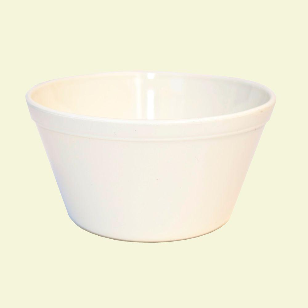 4 in. Diameter, 8.4 oz. Polycarbonate Commercial Bouillon Cup in White