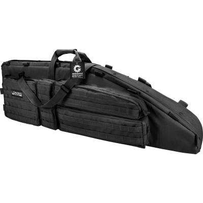 Loaded Gear RX-600 46 in. Hunting 2-Rife Tactical Carrying Bag in Black