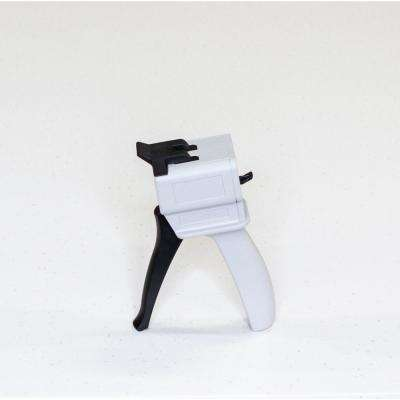 2-Part Off-White and Black Adhesive Gun