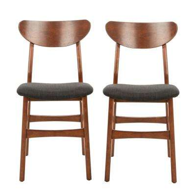 Lucca Walnut/Black Dining Chair