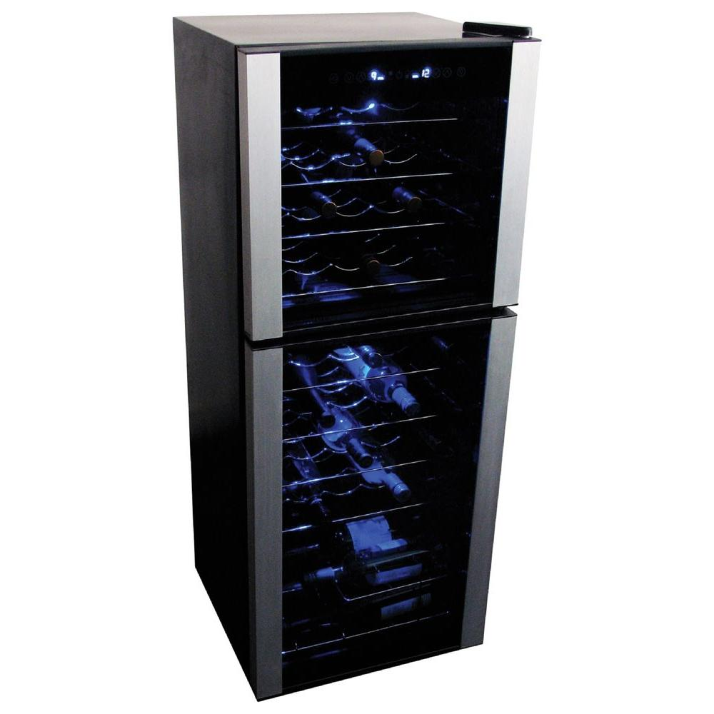 Koolatron 45 Bottle Dual Zone Wine Cellar Wc45 The Home