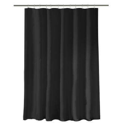 Heavy Weight Shower Liner in Black