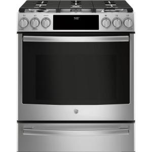 Slide In Smart Dual Fuel Range With Self Cleaning
