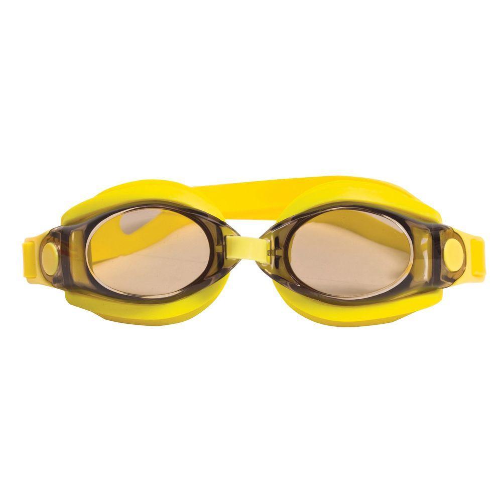 Silicon Sport Yellow Goggles