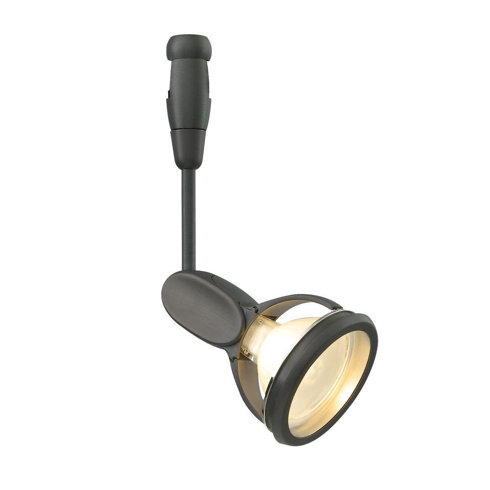 Modo 1-Light Satin Nickel Track Lighting Head