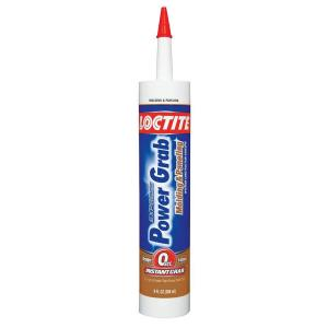 Loctite 9 fl. oz. Power Grab Express Molding and Paneling Adhesive (12-Pack) by Loctite