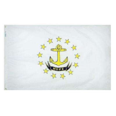 4 ft. x 6 ft. Rhode Island State Flag