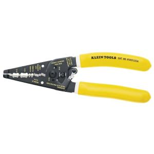 Klein Tools 7-3/4 inch Klein-Kurve Dual Non-Metallic Cable Stripper & Cutter by Klein Tools
