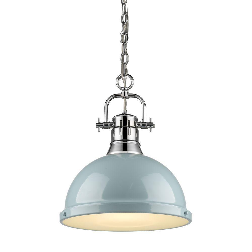 Duncan Collection 1-Light Chrome Pendant