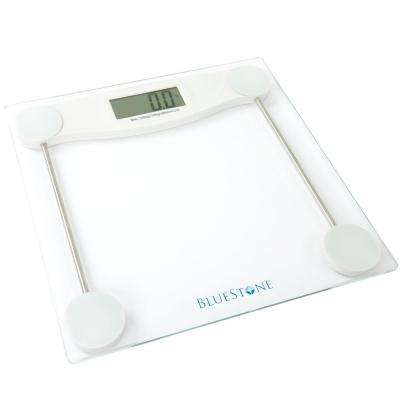 Digital LCD Display Glass Bathroom Scale