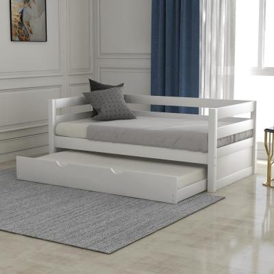 White Varley Twin Daybed with Trundle