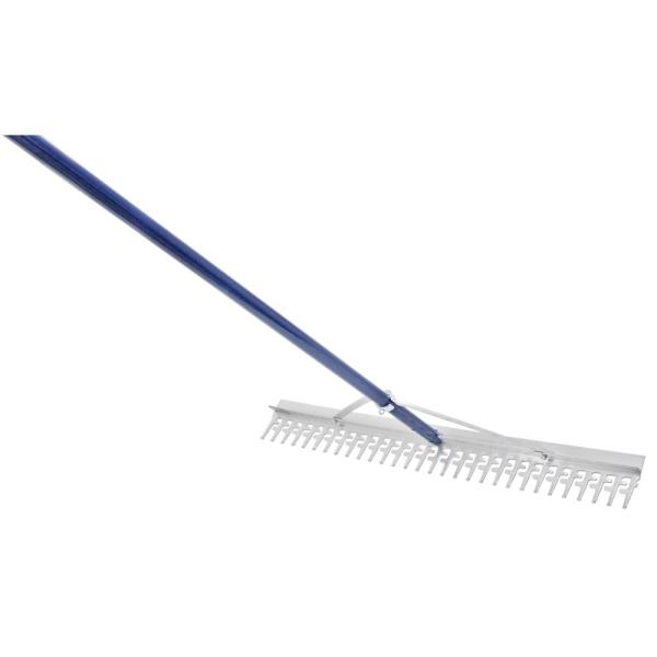 36 in. Head Commercial Grade Screening Rake for Beach and Lawn Care