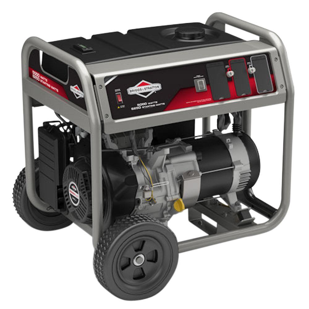 Briggs & Stratton 5,000-Watt Gasoline Powered Portable Generator