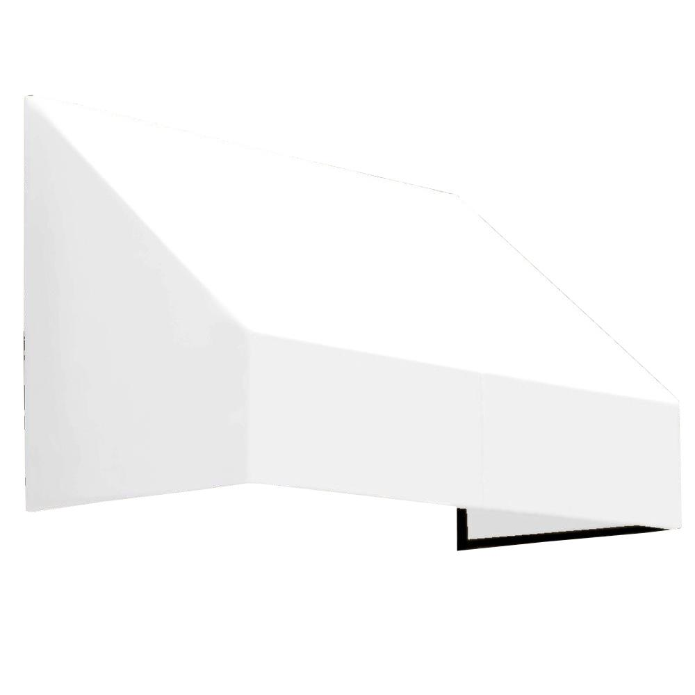 AWNTECH 10 ft. New Yorker Window/Entry Awning (44 in. H x 48 in. D) in OffinWhite