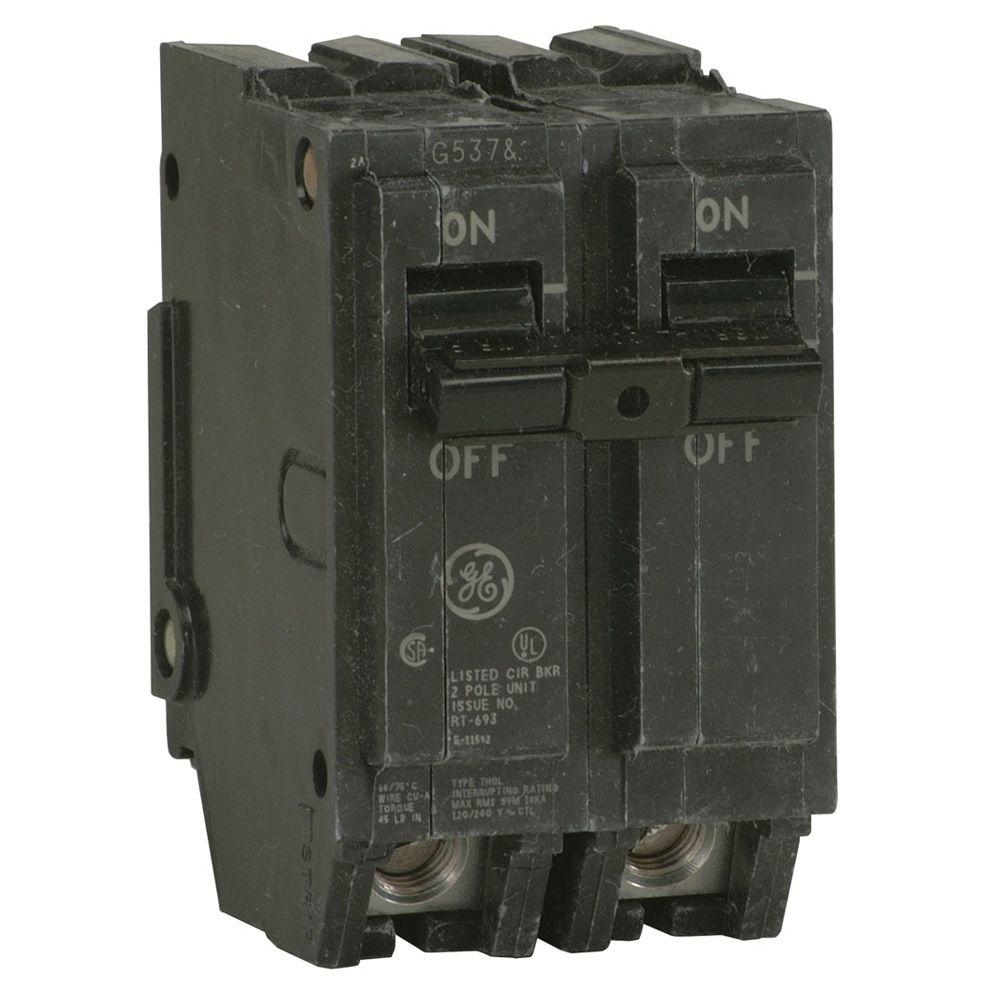 ge 2 pole breakers thql2150 64_1000 ge q line 50 amp 2 in double pole circuit breaker thql2150 the  at creativeand.co