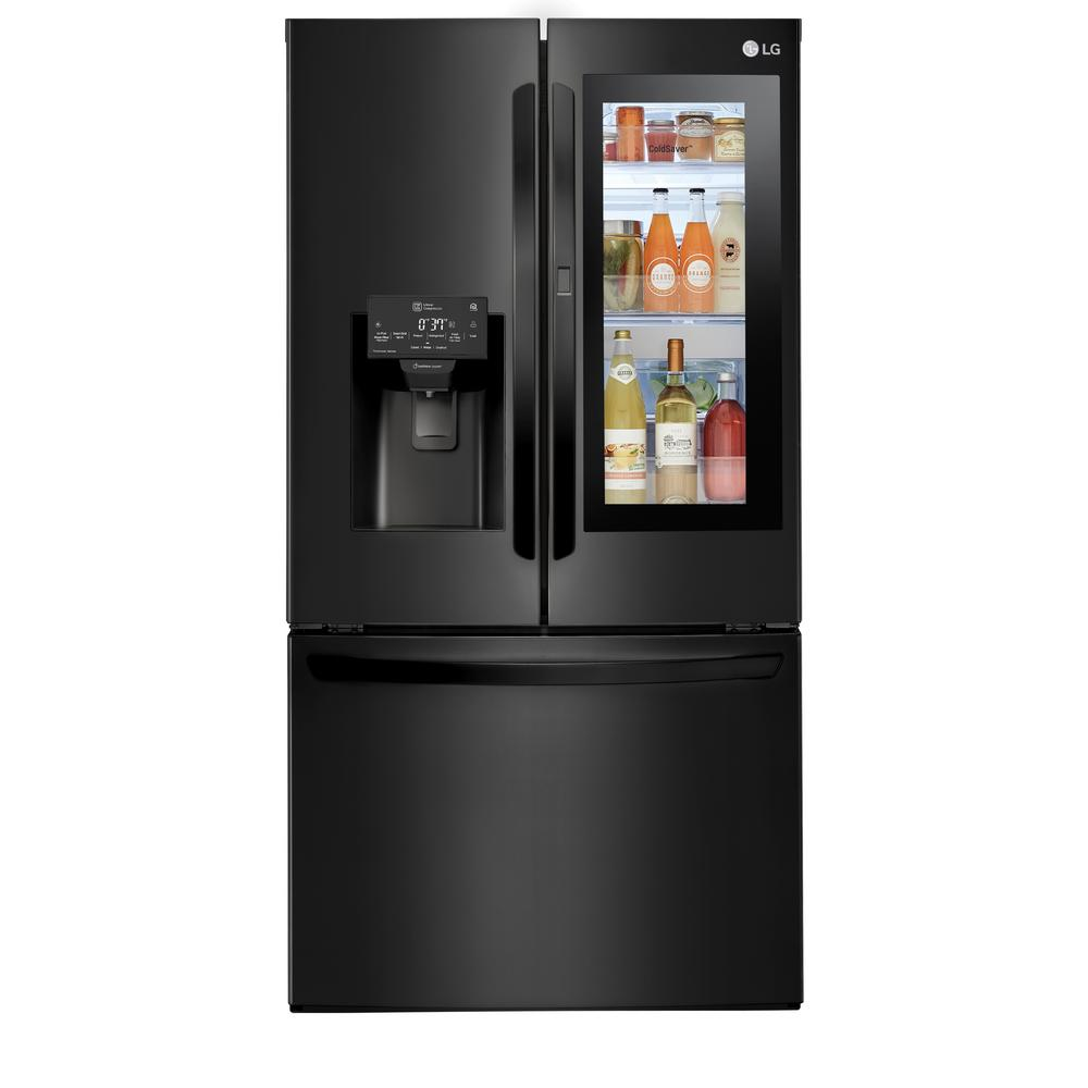 French Door Refrigerators: Haier 16.4 Cu. Ft. Quad French Door Freezer Refrigerator