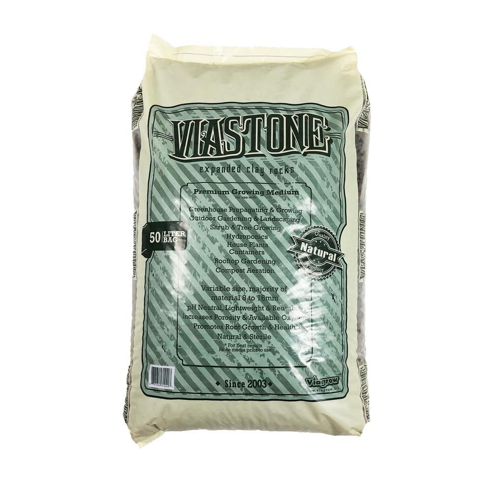 1.76 cu. ft. ViaStone Hydroponic Gardening Medium Grow Rock
