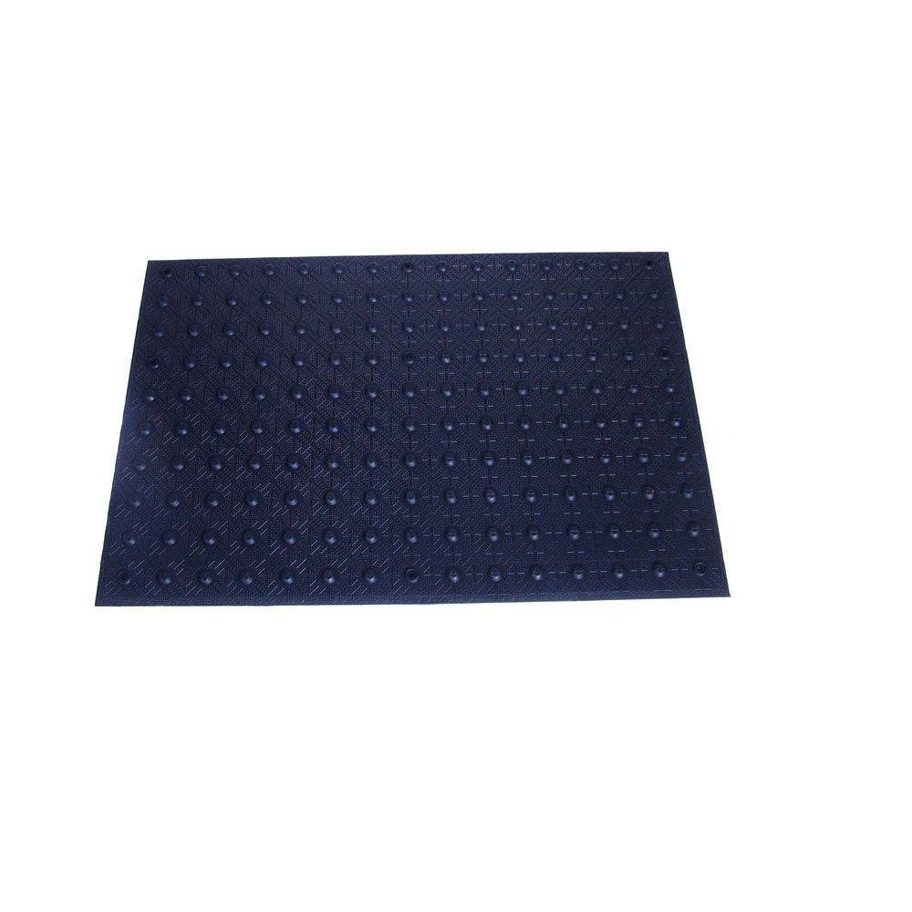 2 ft. x 3 ft. Black Detectable Warning Tile