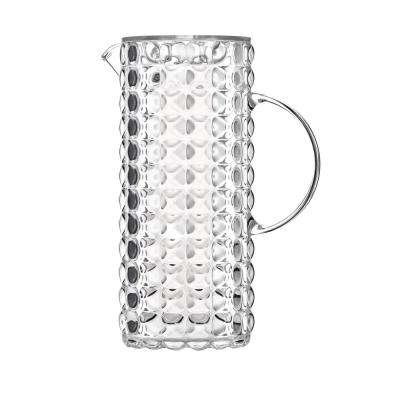 Tiffany Transparent Pitcher with Lid