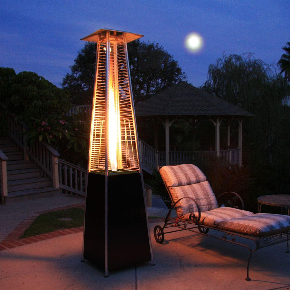 Black Pyramid Propane Gas Patio Heater
