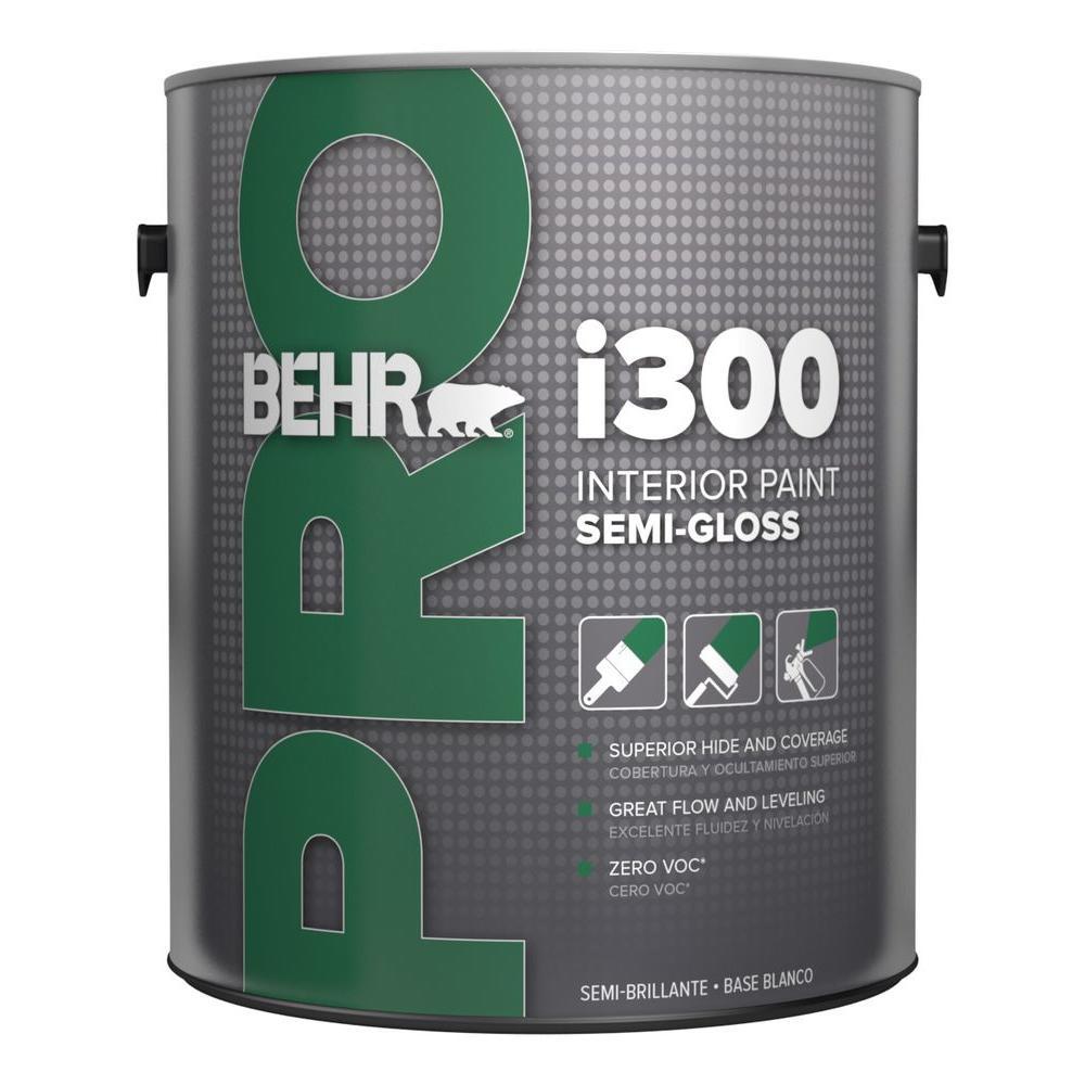 1 gal. i300 Medium Semi-Gloss Interior Paint