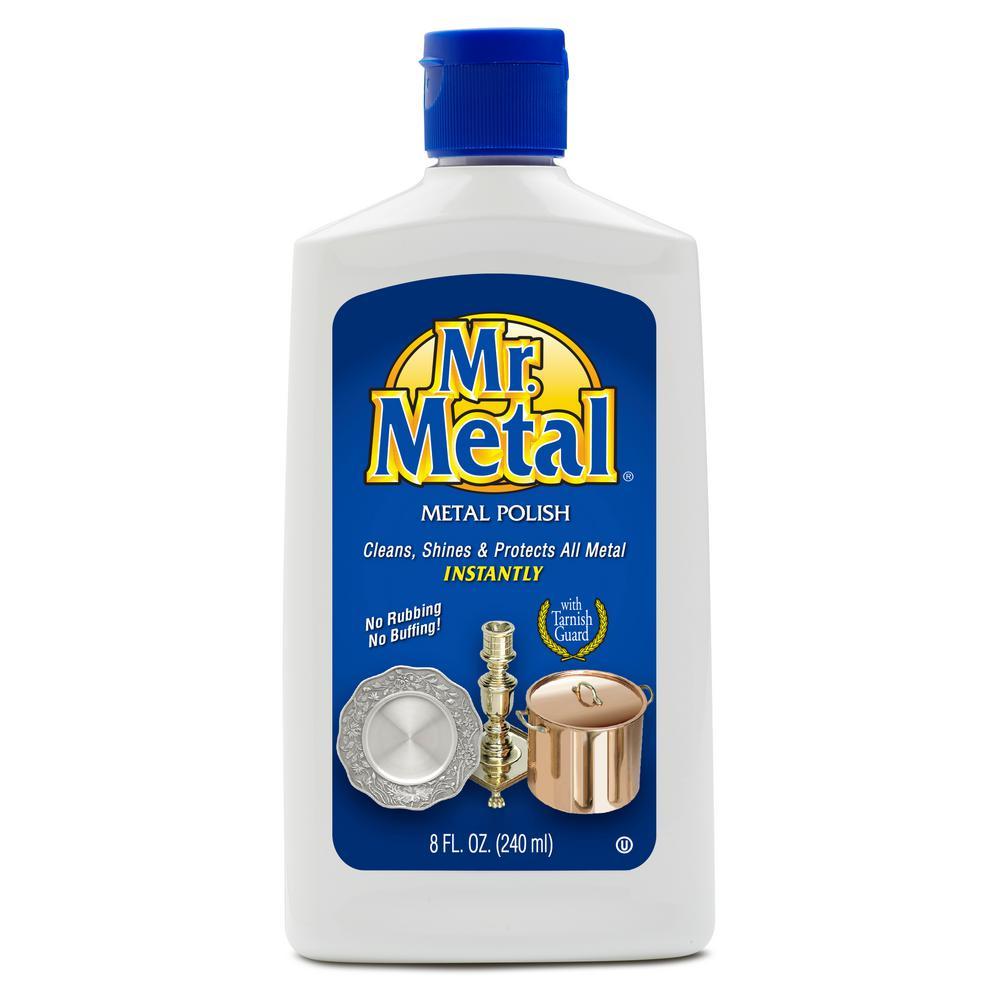 Mr. Metal 8 oz. Brass and Copper Liquid Polish
