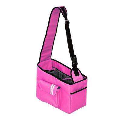 Over-The-Shoulder Summit Pink Hands-Free Pet Carrier - Medium