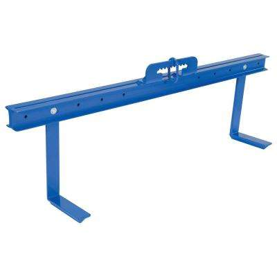 120 in. Arm Width Bar Stock Material Positioner