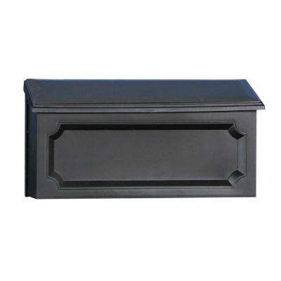 Windsor Black Wall-Mount Mailbox