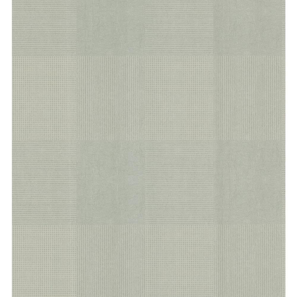 Geometric Plaid On Crackle Texture Wallpaper