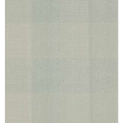 Simple Space Gray Geometric Plaid on Crackle Texture Wallpaper Sample