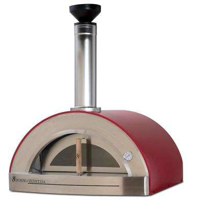 Torino 200 Counter Top Oven in Red