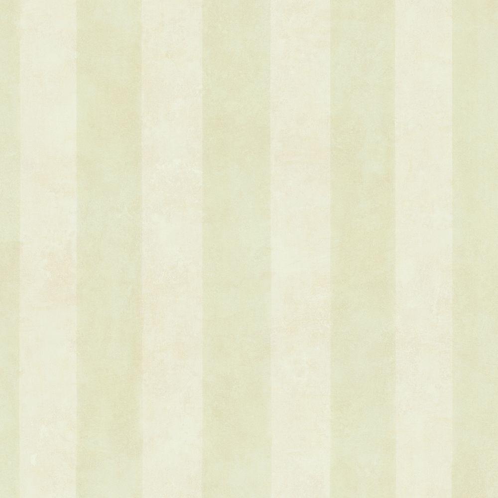 Basil Light Green Soft Stripe Wallpaper Sample