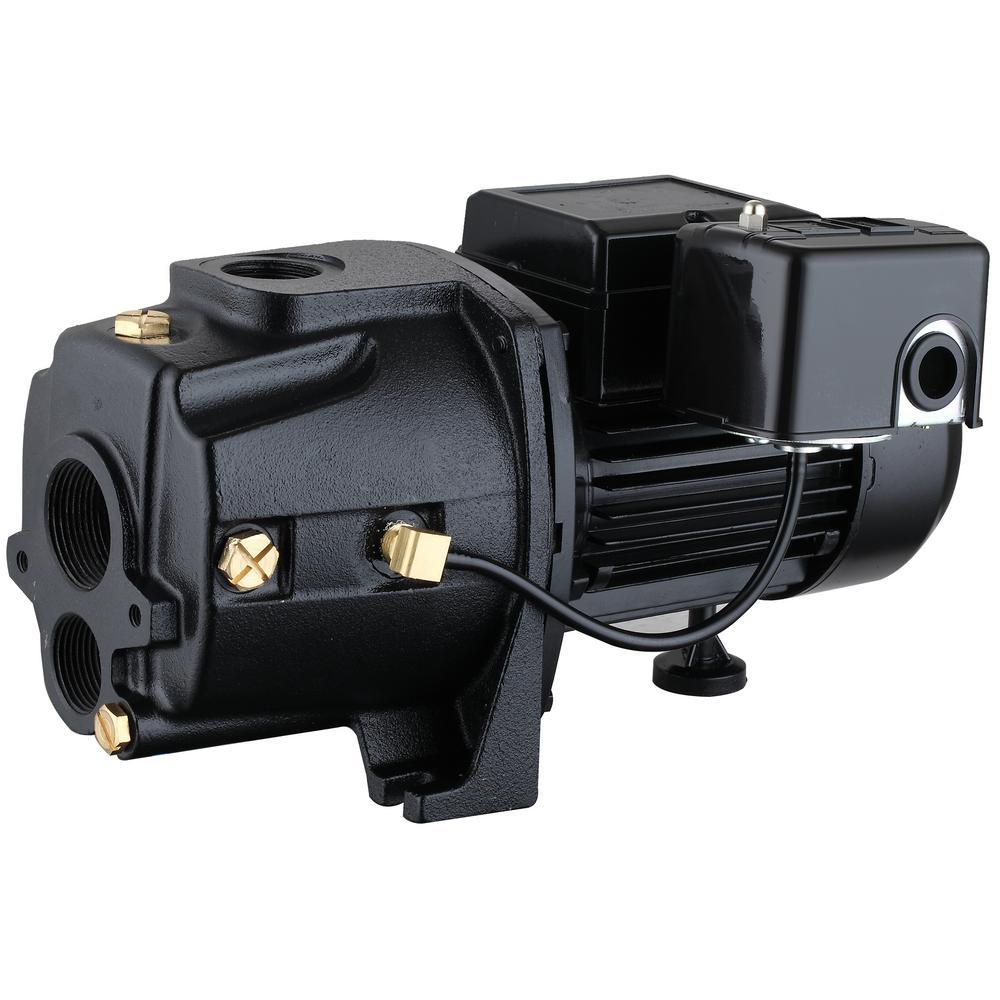 3/4 HP 115/230-Volt Cast Iron Convertible Jet Pump