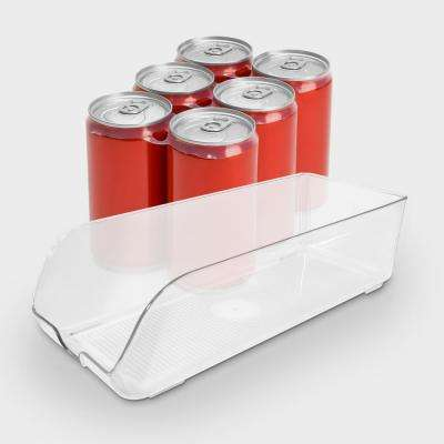 13-1/2 in. x 5-1/2 in. x 4 in. Soda Can Organizer for Refrigeration