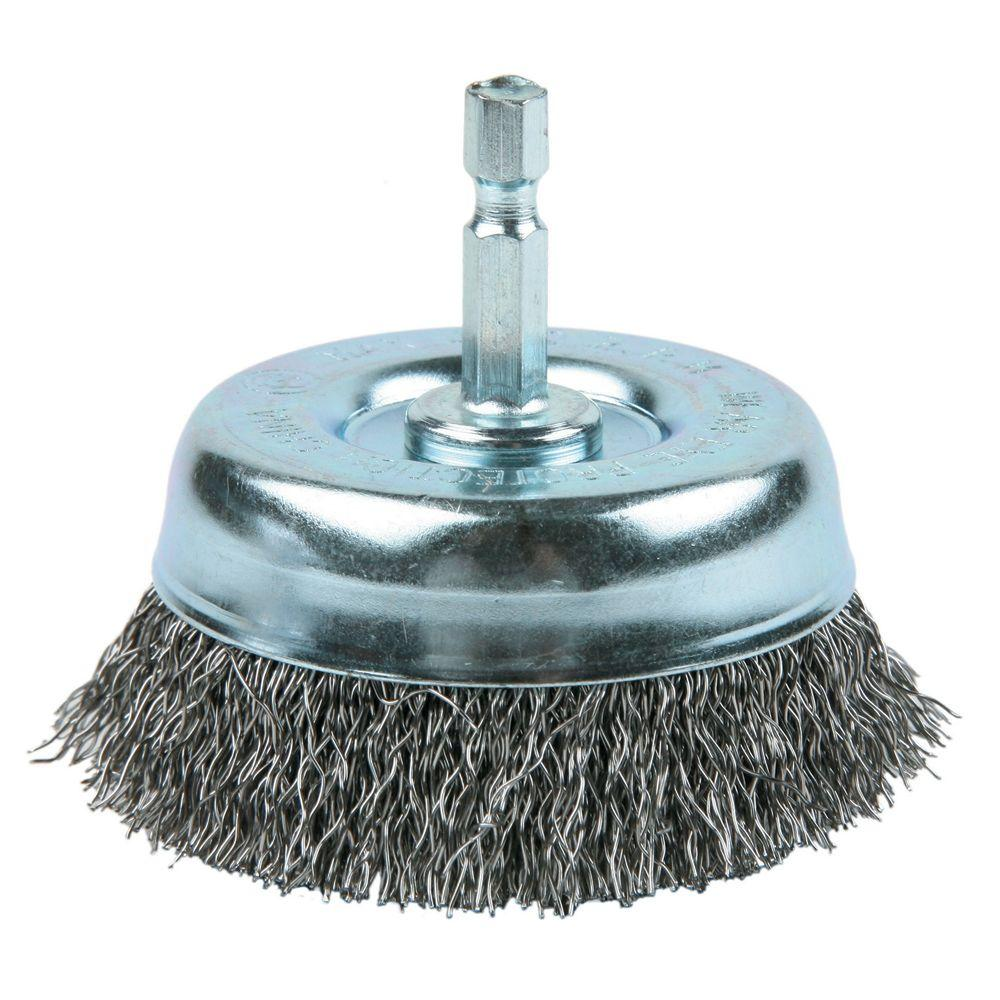 Lincoln Electric 2-1/2 in. Crimped Cup Brush