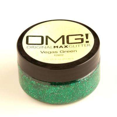 2-oz. Vegas Green Original Max Glitter Paint