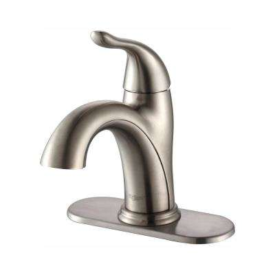 Satin Nickel Bathroom Faucets Bath The Home Depot