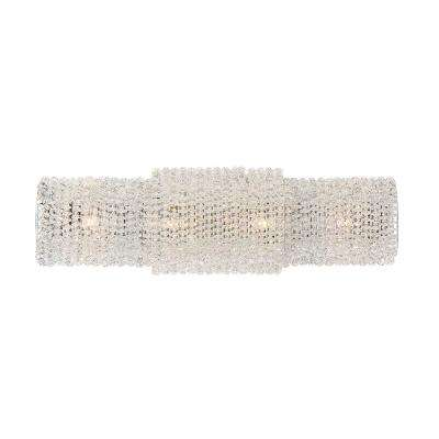 Sposa Collection, 4-Light Chrome Sconce