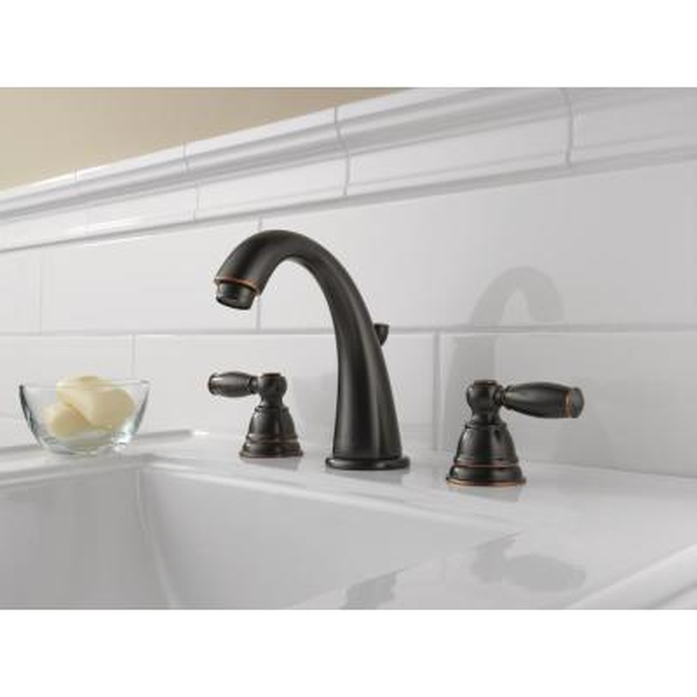 Claymore 8 in. Widespread 2-Handle Bathroom Faucet in Oil Rubbed Bronze